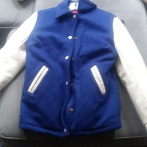 woman's size 8 leather jacket